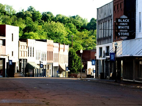 View of Main Street in downtown Yazoo City, Mississippi in this 2011 file photo. Mac Gordon argues the revitalization of the state's small town downtowns should a priority.