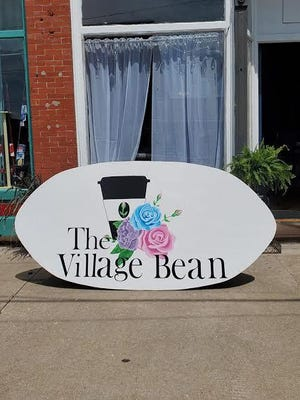The Village Bean is at  155 N. Main St., Roseville.