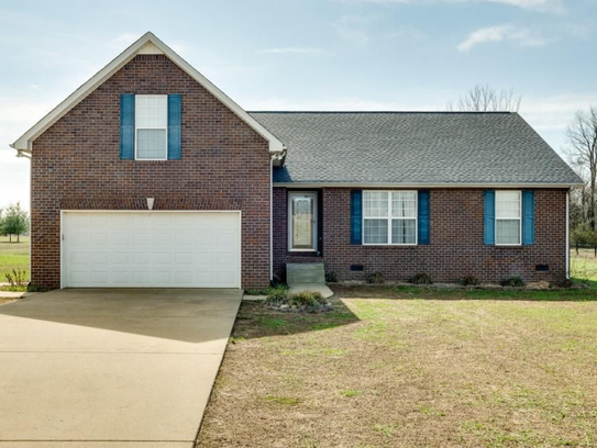 This three-bedroom, two-full-bath home is on four acres.