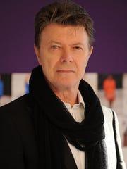 David Bowie in 2010.