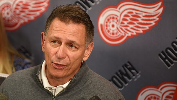 Go through the gallery to see analysis by Ted Kulfan of The Detroit News on players that could be on the move before the NHL trade deadline. Pictured is Red Wings GM Ken Holland.
