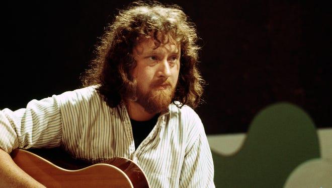 John Renbourn performing circa 1974.