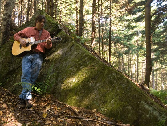 Spencer Lewis performs Friday as part of the Stowe