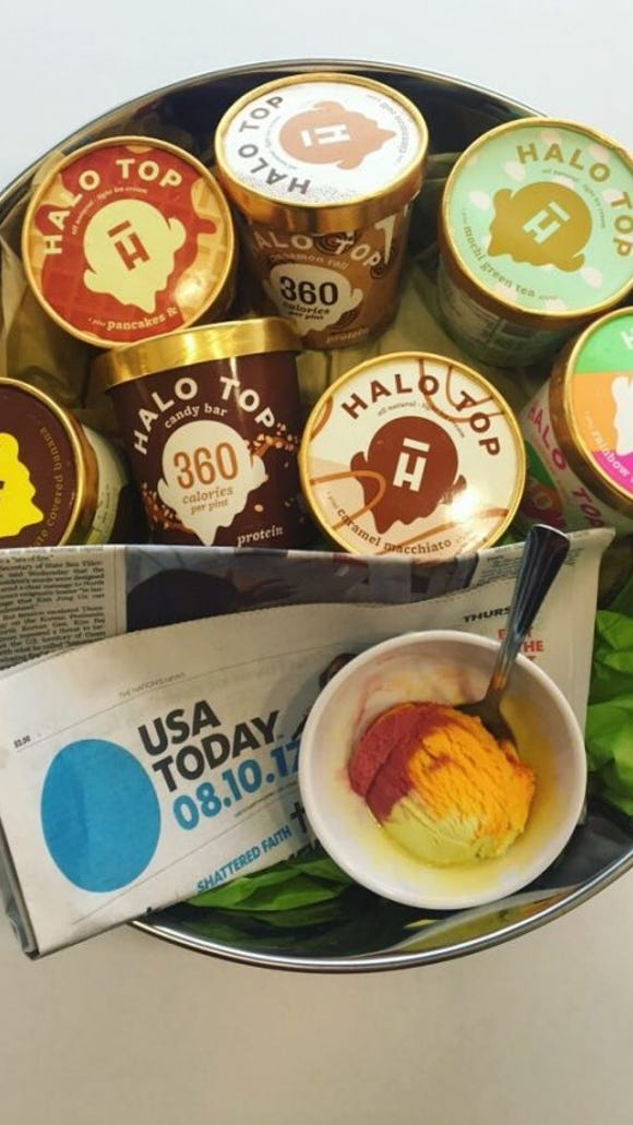 7 new halo top flavors