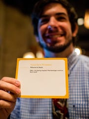 Noah Wimberly, a server at Social Southern Table &