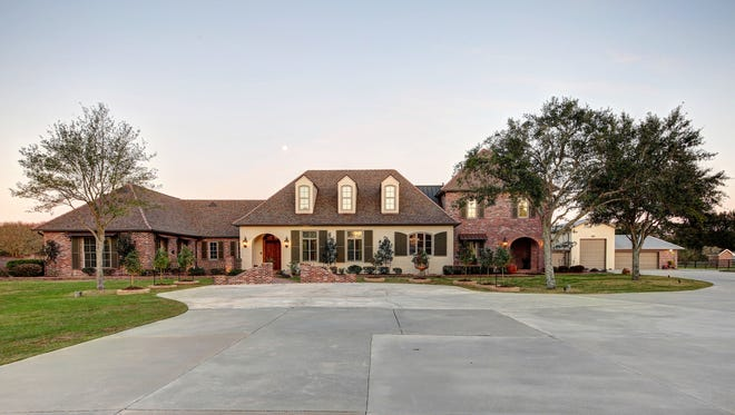 This 5bedroom, 6 1/2 bath home has 7,997square feet of living and is located at 1701 Bonin Rd. in Youngsville. It is listed at$3,975,000.