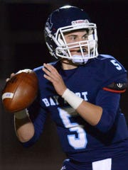 Bay Port quarterback Quinn Pierner.