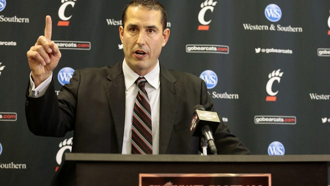 """New University of Cincinnati head football coach Luke Fickell will be the featured speaker Feb. 28 at the National Football Foundation's """"That's My Boy"""" banquet in downtown Cincinnati."""