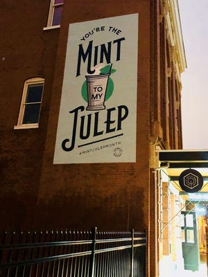 Post a photo of yourself in front of the mural at Quills on Main during the month of April and you are entered to win Mint Julep Swag