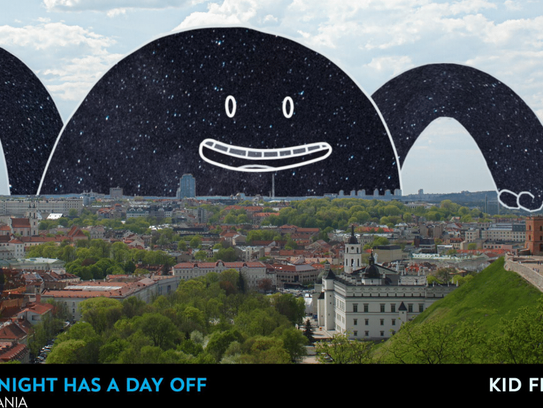 """Mr. Night Has A Day Off"" tells the story of Mr. Night,"