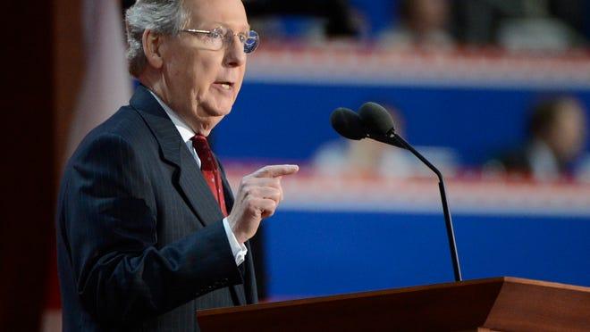 Senate Majority Leader Mitch McConnell, R-Ky. (Robert Deutsch, USA TODAY)