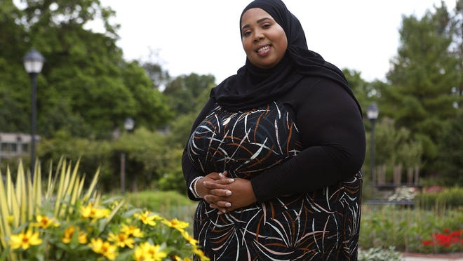 Bexley resident Maghrib Shahid created the Miss Muslimah USA pageant to break down beauty stereotypes and celebrate modest women who wear the hijab.