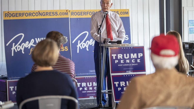 U.S. Rep. Roger Williams, R-Austin, hosts a campaign event Wednesday with President Donald Trump's reelection campaign at Emerald Point Bar and Grill.
