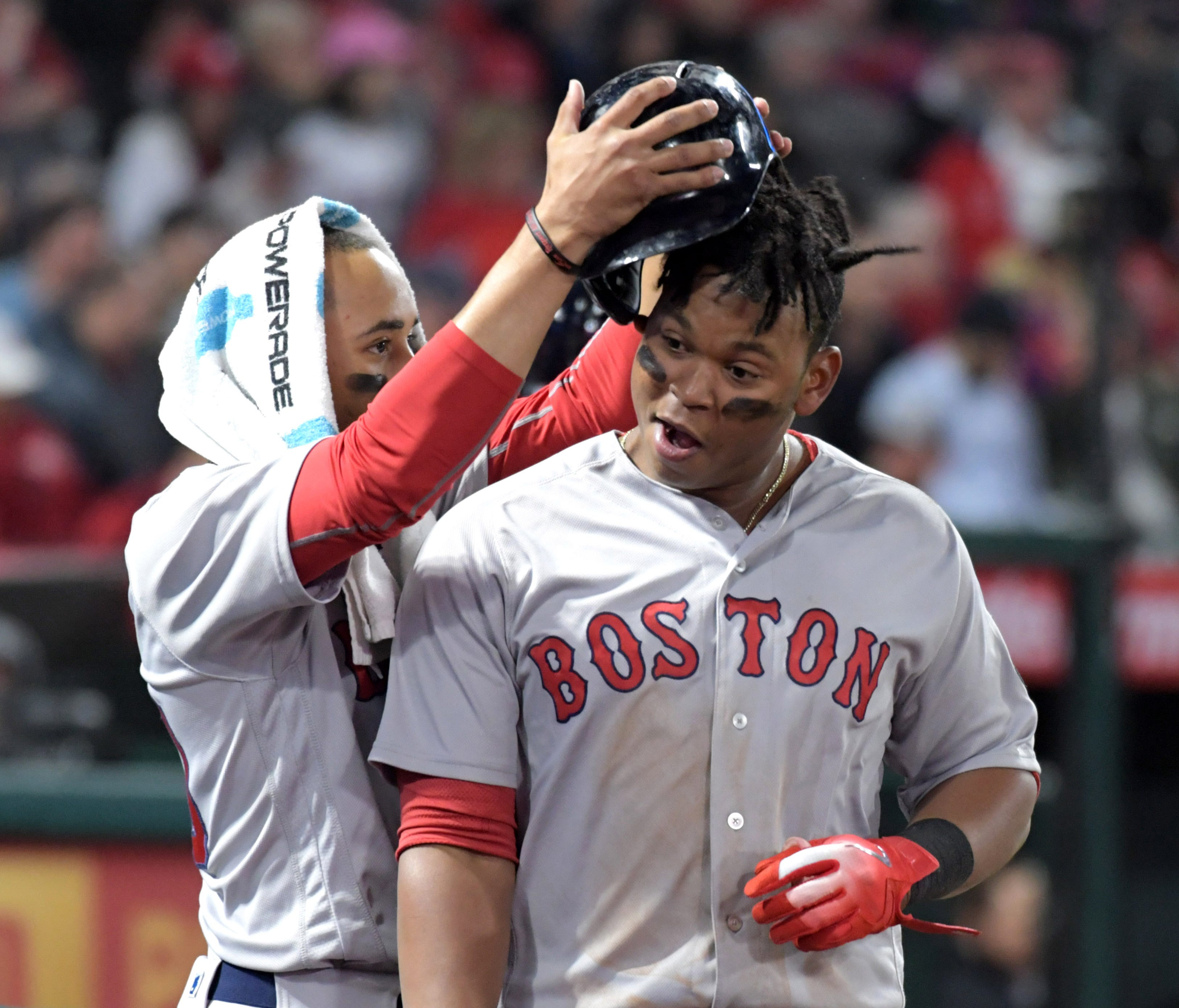 After an off year - for him - in 2017, Mookie Betts has regained his MVP-caliber form of 2016.