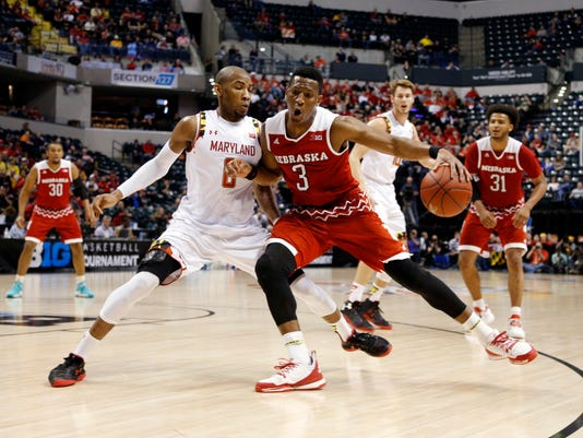 NCAA Basketball: Big Ten Conference Tournament-Maryland vs Nebraska