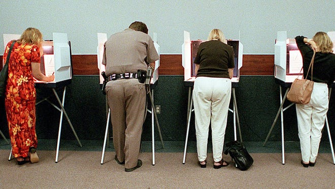 Poll watchers play an important role in securing the integrity of the vote.