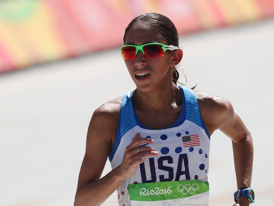 Olympics: Track and Field-Women's Marathon