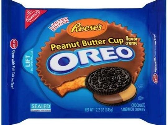 A whole new flavor reese 39 s peanut butter cup flavor oreo for Where can i find blue bell christmas cookie ice cream