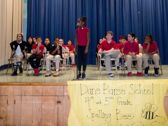 Dane Barse School held its first Scripps School Spelling