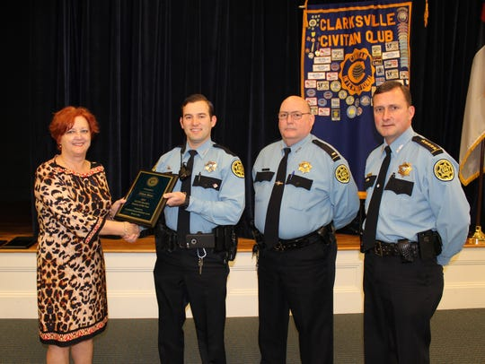 Reserve Deputy Tim Neal with the MCSO was recognized