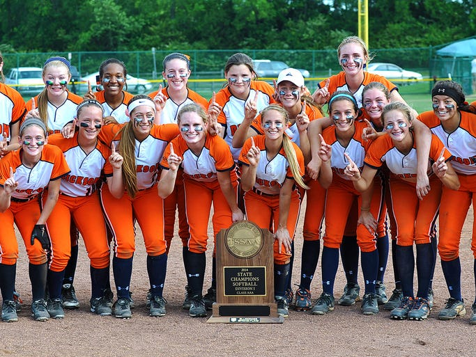 Dickson County High softball were undefeated through the 2014 TSSAA Class AAA State Tournament as they won the Lady Cougars second state title. DC defeated Gibbs High for the championship on May 23.