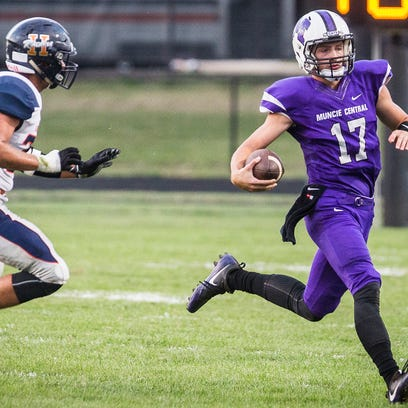 Harrison defeated Central 20-15 at Central Friday,