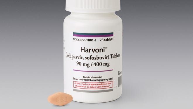 Federal health officials have approved Harvoni, a daily pill that can cure the most common form of hepatitis C without the grueling pill-and-injection cocktail long used to treat the virus.