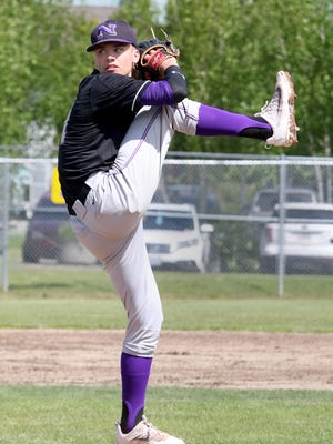 North Kitsap pitcher Ryan Hecker is 6-1 with a 1.03 earned run average this season for the Vikings. North Kitsap plays Black Hills in the Class 2A state tournament on Saturday.