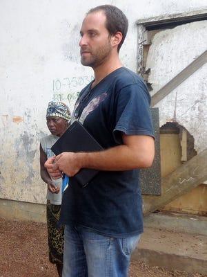 Freelance TV cameraman Ashoka Mukpo  was declared free of Ebola on Tuesday after undergoing treatment at a hospital in Nebraska.