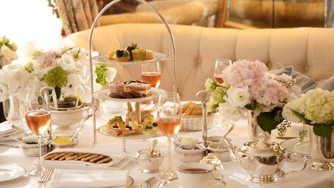 Afternoon tea at the Lowell Hotel's Pembroke Room in New York offers an escape from the city's hustle and bustle of New York.