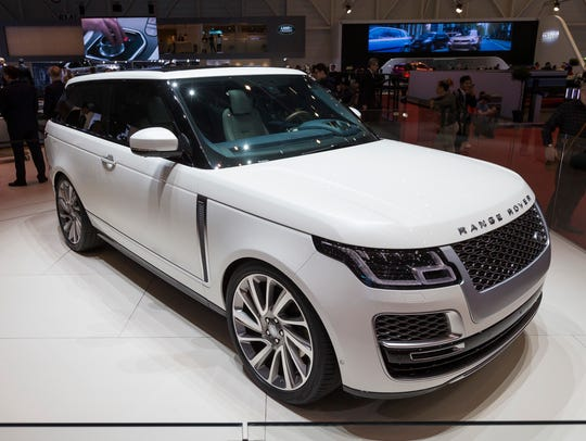 The new Land Rover Range Rover SV Coupe