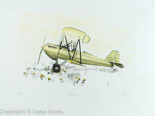 """Dandelion"" by Joyce Arons."