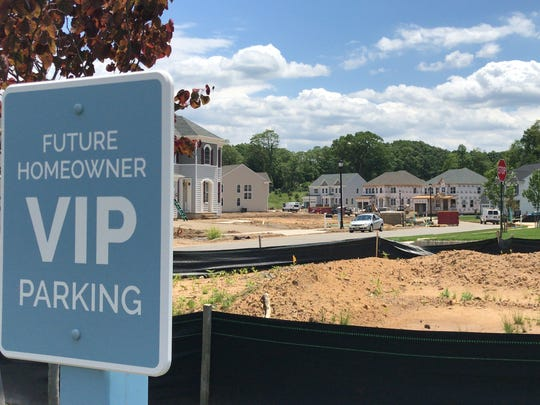 Vintage Park is one of two KHovnanian luxury home projects under construction in East Brunswick.