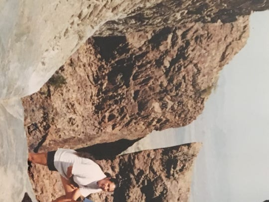 Sheila Fuqua and Andre Fuqua at Big Bend National Park