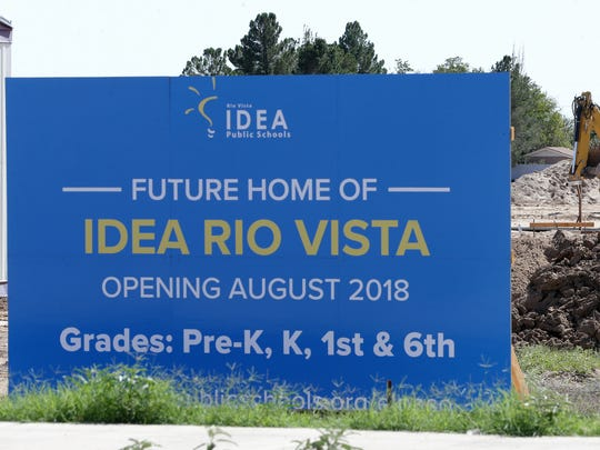 Ground has been broken and construciton is underway for the IDEA Rio Vista charter school.