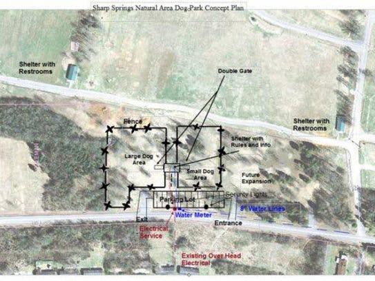 Site plans for Bark Springs at Sharp Springs Natural