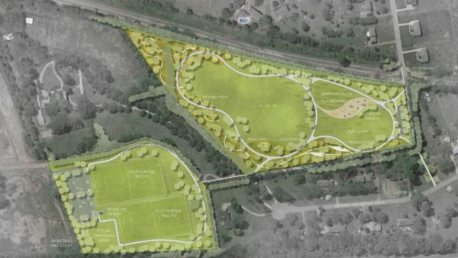 Plans to separate a 24-acre tract of land into two parks will move on to the Brentwood City Commission.