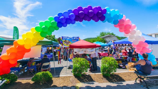Rockland County Pride Sunday in Nyack on June 14, 2015.