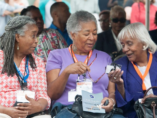 New Orleans CORE Members Jean Denton-Thompson, from