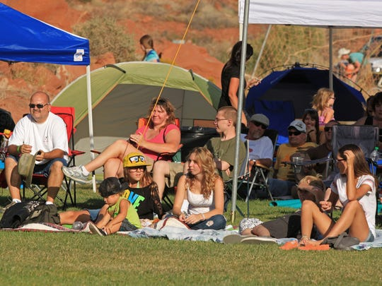 The Zion Summer Fest on July 17 in Springdale will raise money for the annual Zion Canyon Music Festival, shown here, in September.