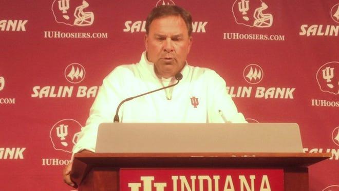 IU coach Kevin Wilson