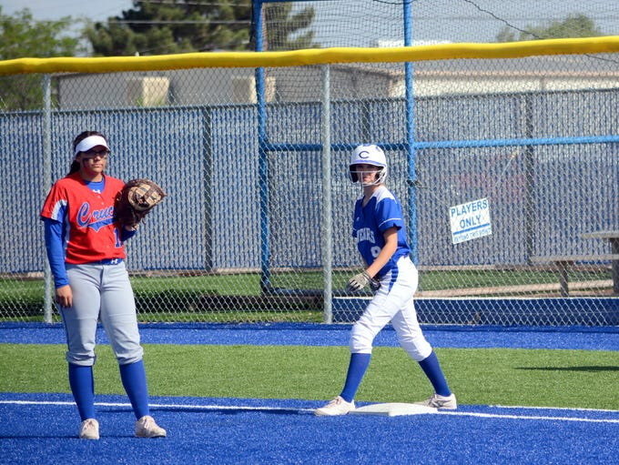 Carlsbad hosts Las Cruces in Thursday's district doubleheader.