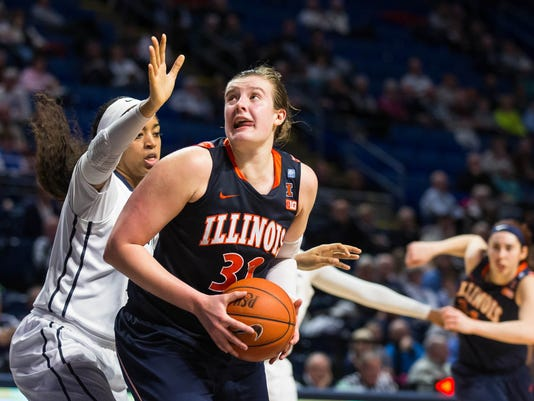 NCAA Womens Basketball: Illinois at Penn State