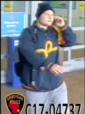 Police seek public's help in identifying the pictured theft suspect.