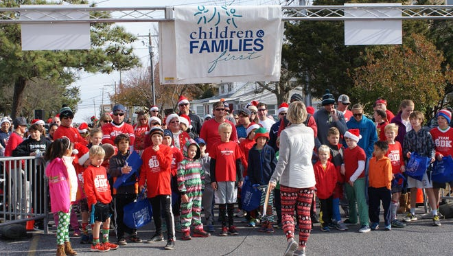 The second annual Santa Cause 5k in Dewey Beach will raise money for Children and Families First.