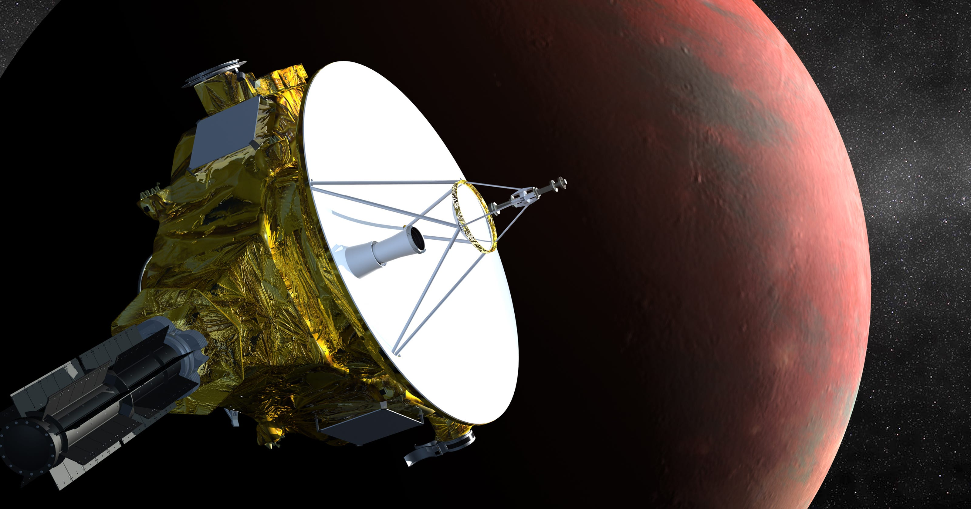 newest space probe - HD1600×900