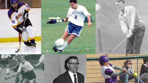 Steve Gretkowski, David Antonioli, Sarah Alves, Megan Lyons Melanson, Casey Brooks and Tony Adams will be inducted into the SMC athletic hall of fame, the school announced earlier this month.