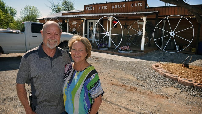 James and Ellen Fee opened Fee's Knic Knacs Cafe in February and have enjoyed steady business since word of the good food and quality service spread through social media. The cafe is located on Highway 82 in Ringgold, about 30 minutes east of Wichita Falls.