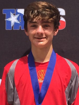 TAPPS State Champion Colson Schiek of Christ Academy is among a group of Wichita Falls' tennis stars headed to Abilene to take on the best in Texas at the Texas Grand Slam.