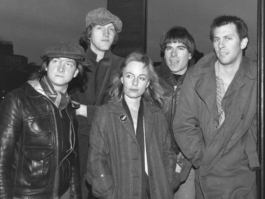 The Robin Lane Group, from left: Tim Jackson, Scott